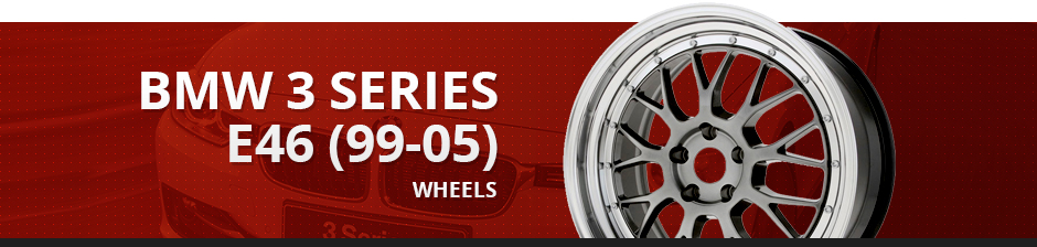 BMW3 Series E46 (99-05) Wheels