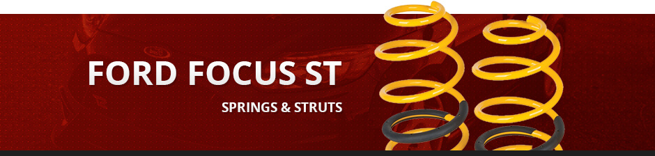 FORD FOCUS ST SPRINGS AND STRUTS