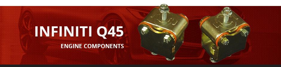 INFINITI Q45 ENGINE COMPONENTS