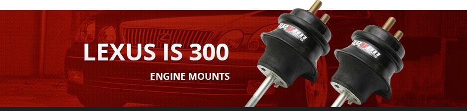 LEXUS IS300 ENGINE MOUNTS
