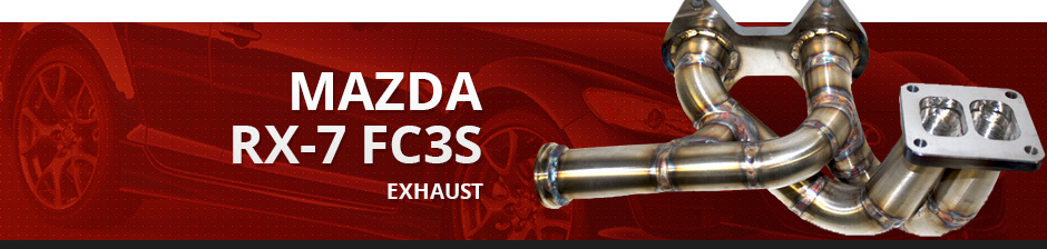 MAZDA RX7 FC3S EXHAUST