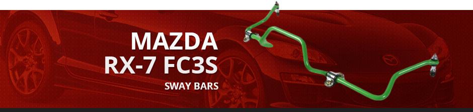 MAZDA RX7 FC3S SWAY BARS