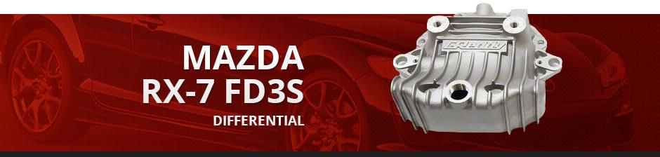 MAZDA RX7 FD3S DIFFERENTIAL