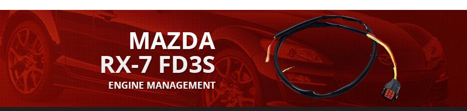 MAZDA RX7 FD3S ENGINE MANAGEMENT