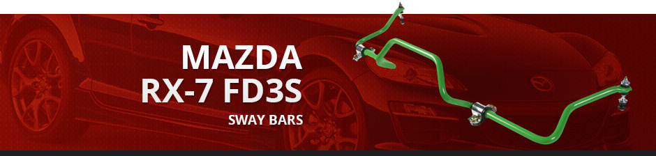 MAZDA RX7 FD3S SWAY BARS
