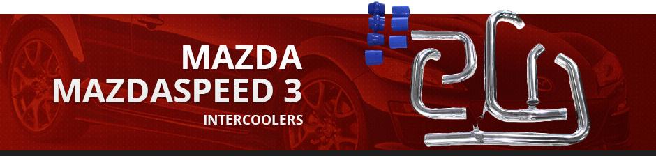 MAZDA MAZDASPEED3 INTERCOOLERS