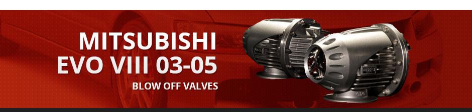 MITSUBISHI EVO VIII 03-05 BLOW OFF VALVES