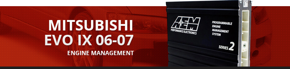 MITSUBISHI EVO IX 06-07 ENGINE MANAGEMENT