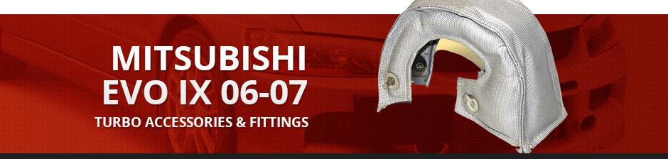 MITSUBISHI EVO IX 06-07 TURBO ACCESSORIES & FITTINGS