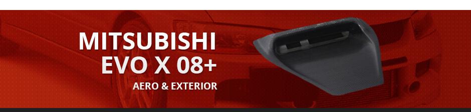 MITSUBISHI EVO X 08+ AERO & EXTERIOR