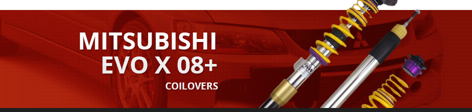 MITSUBISHI EVO X 08+ COILOVERS