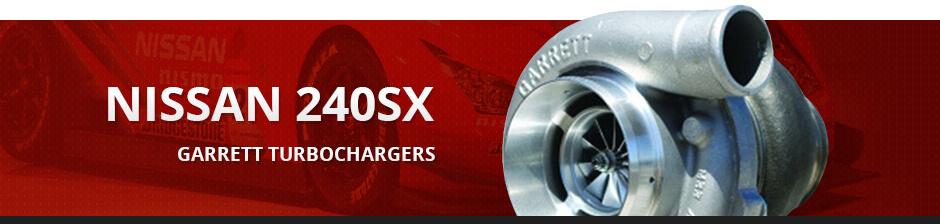 NISSAN 240SX GARRETT TURBOCHARGERS