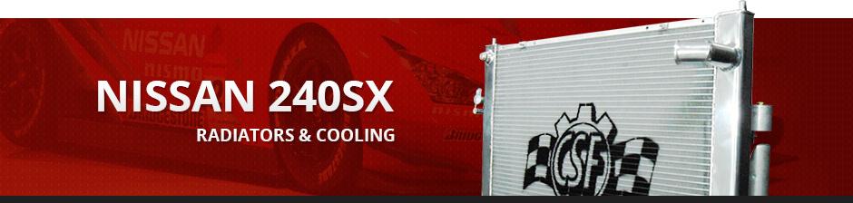 NISSAN 240SX RADIATORS & COOLING