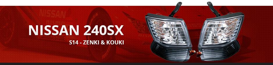 NISSAN 240SX S14 - ZENKI & KOUKI