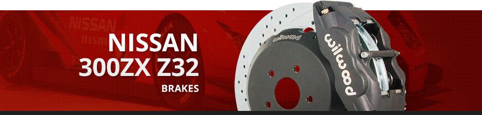 NISSAN 300ZX Z32 BRAKES