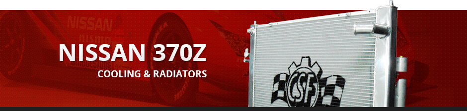NISSAN 370Z COOLING & RADIATORS
