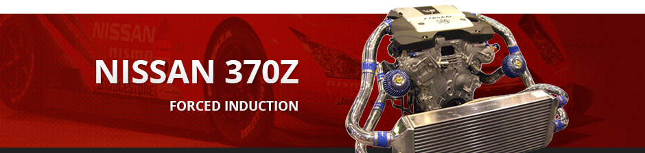 NISSAN 370Z FORCED INDUCTION