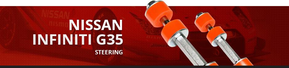 NISSAN INFINITI G35 STEERING