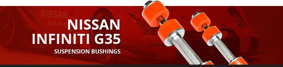 NISSAN INFINITI G35 SUSPENSION BUSHINGS