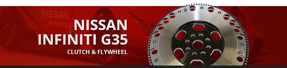 NISSAN INFINITI G35 CLUTCH & FLYWHEEL