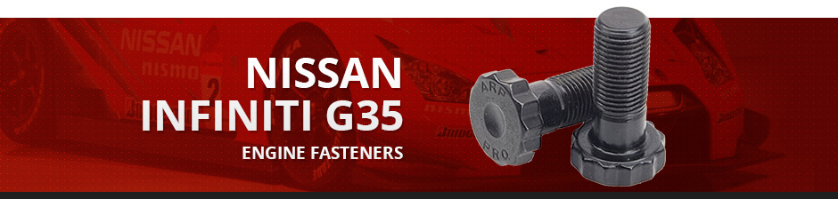 NISSAN INFINITI G35 ENGINE FASTENERS