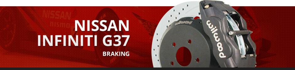 NISSAN INFINITI G37 BRAKING