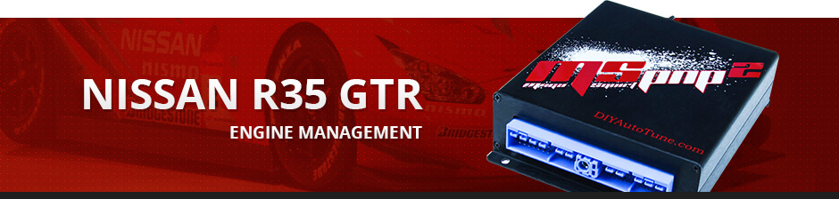 NISSAN R35 GTR ENGINE MANAGEMENT