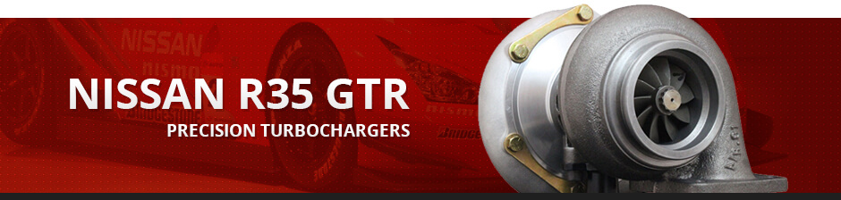 NISSAN R35 GTR PRECISION TURBOCHARGERS