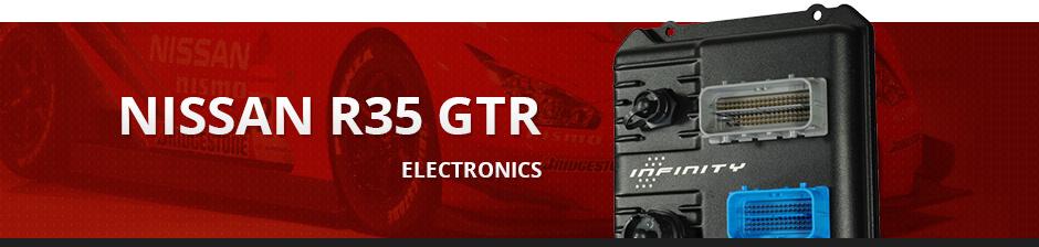 NISSAN R35 GTR ELECTRONICS