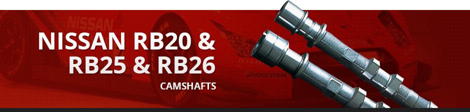 NISSAN RB20 & RB25 & RB26 CAMSHAFTS
