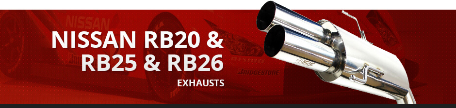NISSAN RB20 & RB25 & RB26 EXHAUST