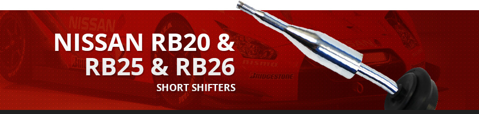 NISSAN RB20 & RB25 & RB26 SHORT SHIFTERS