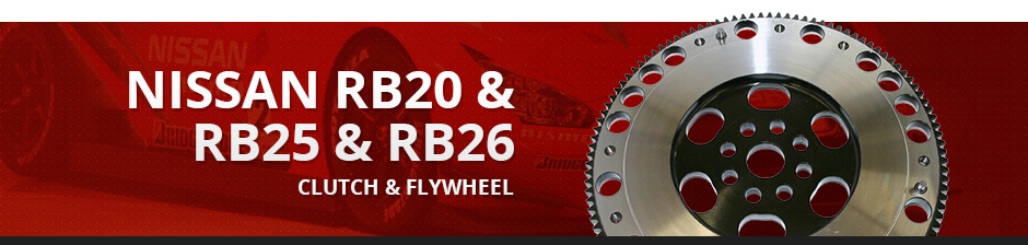 NISSAN RB20 & RB25 & RB26 CLUTCH & FLYWHEEL