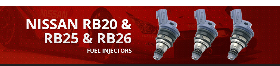 NISSAN RB20 & RB25 & RB26 FUEL INJECTORS