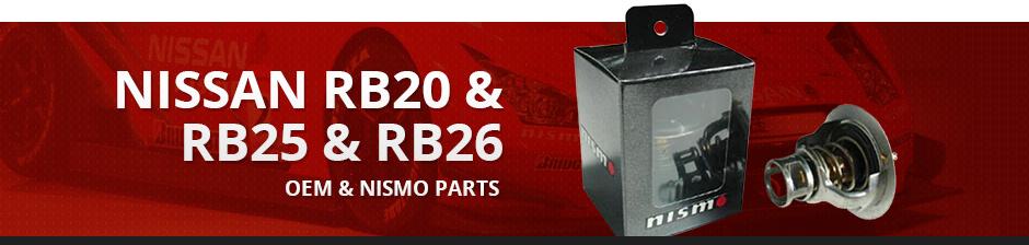 NISSAN RB20 & RB25 & RB26 OEM & NISMO PARTS