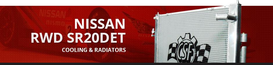 NISSAN RWD SR20DET COOLING & RADIATORS