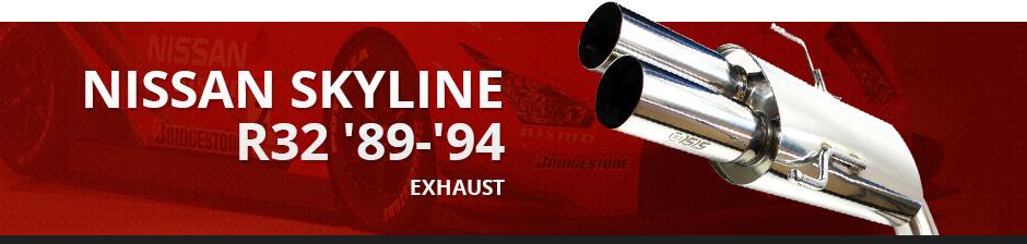 NISSAN SKYLINE R32 '89-'94 EXHAUST