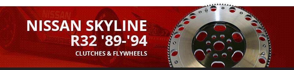 NISSAN SKYLINE R32 '89-'94 CLUTCHES & FLYWHEELS
