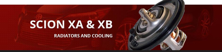SCION XA & XB RADIATORS AND COOLING