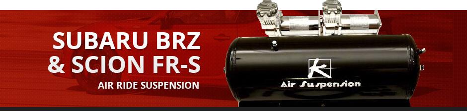SUBARU BRZ & SCION FR-S AIR RIDE SUSPENSION