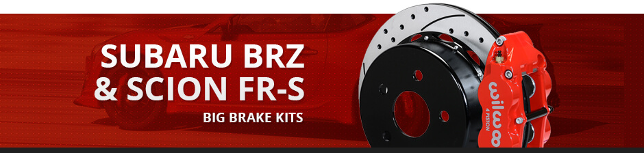 SUBARU BRZ & SCION FR-S BIG BRAKE KITS