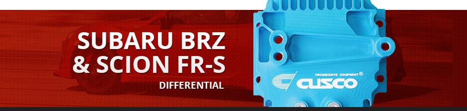 SUBARU BRZ & SCION FR-S DIFFERENTIAL