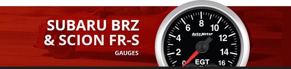 SUBARU BRZ & SCION FR-S GAUGES
