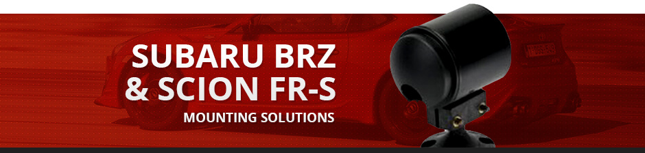 SUBARU BRZ & SCION FR-S MOUNTING SOLUTIONS