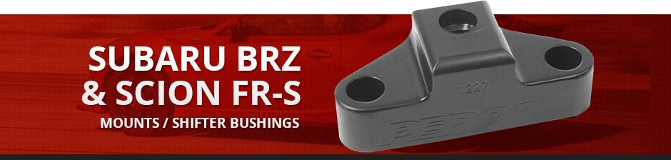 SUBARU BRZ & SCION FR-S MOUNTS / SHIFTER BUSHINGS