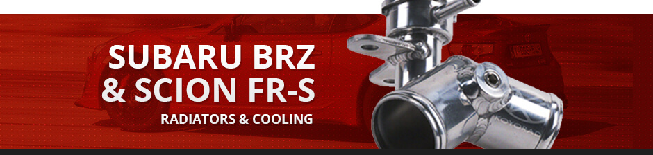 SUBARU BRZ & SCION FR-S RADIATORS & COOLING