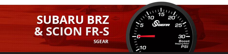 SUBARU BRZ & SCION FR-S SGEAR