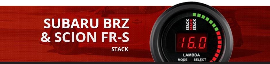 SUBARU BRZ & SCION FR-S STACK