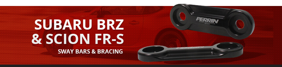 SUBARU BRZ & SCION FR-S SWAY BARS & BRACING