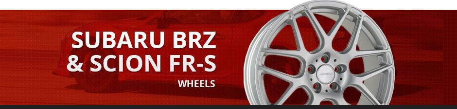 SUBARU BRZ & SCION FR-S WHEELS